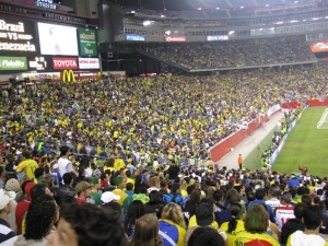 54 mil torcedores coloriram o Giletão.