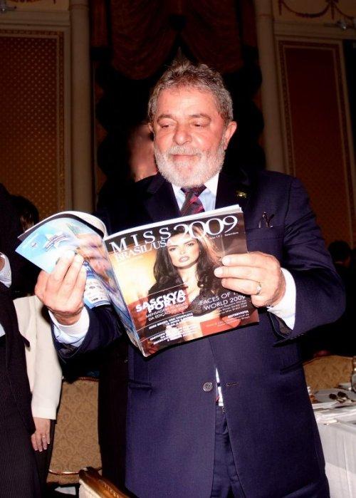 Lula reconhece a beleza brasileira na ONU.